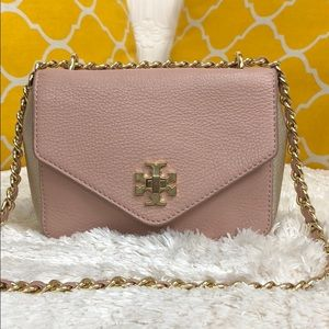 🌸OFFERS?🌸Tory Burch All Leather TwoTone Crossbdy